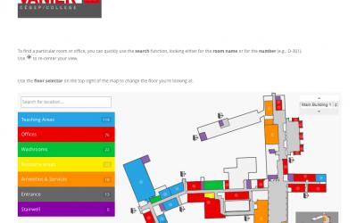 Vanier Interactive Map
