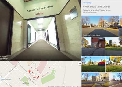 Previewing 360 Degrees of Vanier